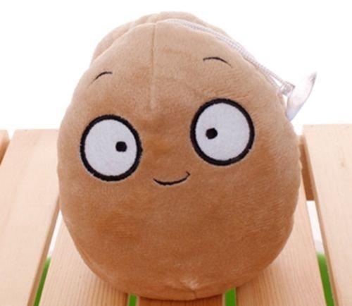 Plants Vs Zombies 2 PVZ Figures Plush Baby Staff Toy Stuffed Soft Doll (Wallnut)