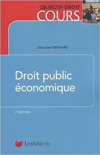 Livres gratuits en ligne Droit public économique pdf
