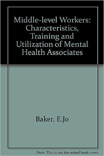 characteristics of mental health