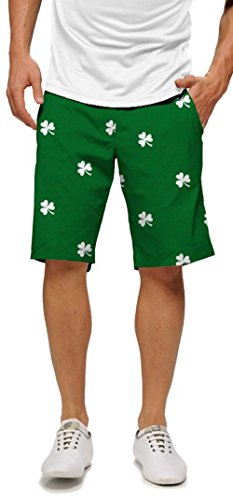 loudmouth-golf-shamrocks-shorts-32-x-11
