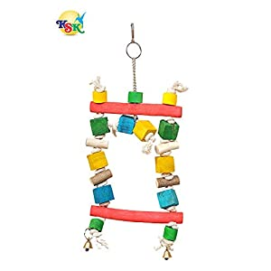 KSK Wooden Bird Toy,(Kskwsa001)