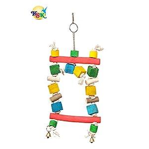 KSK Wooden Bird Toy,(Kskwsa001)