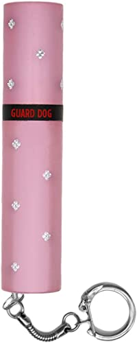 Guard Dog Security Elektra Lipstick Stun Gun for Women, Maximum Voltage – Police Strength, 100 Lumen Flashlight. Keychain. Rechargeable. Wall Charger Included.