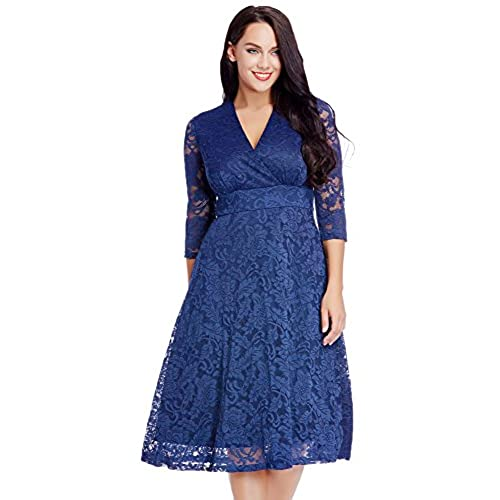 Blue Dress Plus Size Amazon