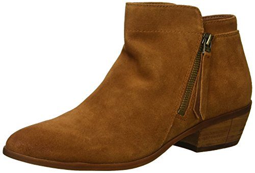 Sam Edelman Women's Packer Ankle Boot, Luggage Suede, 7.5 W US