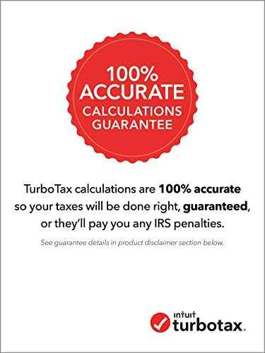 TurboTax Deluxe 2020 Desktop Tax Software, Federal Returns Only + Federal E-file [Amazon Exclusive] [PC/Mac Disc]