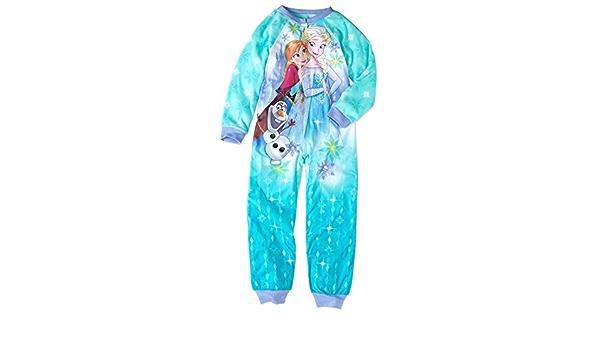 Elsa and Olaf Fleece Footless Pajama Sleeper Disney Frozen Anna