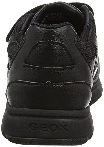 Geox J Xunday B, Zapatillas Para Niños Negro (Black)