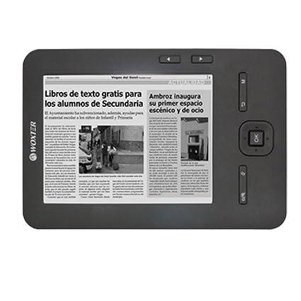 Woxter Scriba Pocket 100 4GB Gris lectore de e-book: Amazon.es ...