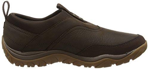 Merrell Womens Murren Moc Waterproof Shoe Brown (varens)