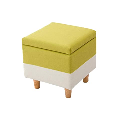 Enjoyable Amazon Com Storage Ottomans Storage Stool Seat Wooden Caraccident5 Cool Chair Designs And Ideas Caraccident5Info