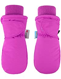 Children's Snow Sports Thinsulate Insulation Waterproof Winter Mittens