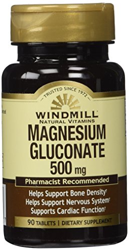 Magnesium Gluconate 500 Mg 90 Tb - From Windmill