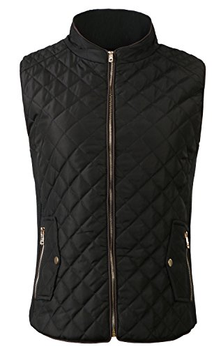 Quilted Side Zip Vest - 5