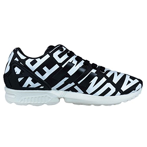 ADIDAS ORIGINALS WOMENS ZX FLUX BLACK WHITE RITA ORA B35311 WOMENS RUNNING 9PRuV