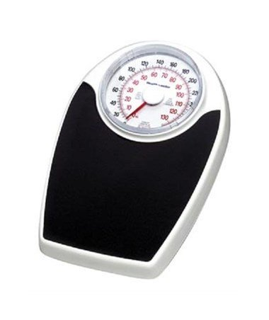 Health O Meter 160lbs. Mechanical Floor Scale, 400 lb. Capacity, 12-1/2'' x 11'' x 3'' Platform by Health o meter
