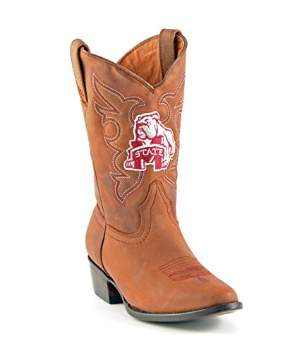 UPC 848676078929, NCAA Mississippi State Bulldogs Boys Gameday Boots, Honey, 1