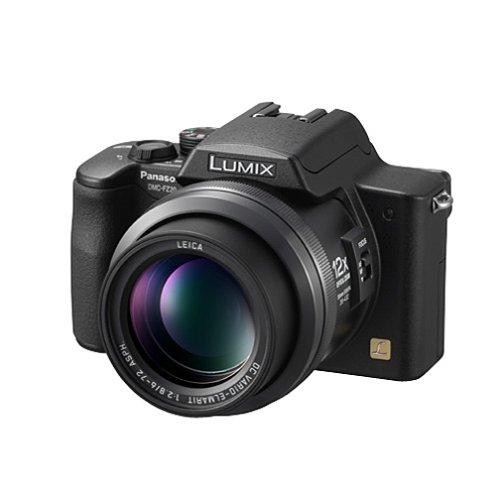 Panasonic Lumix DMC-FZ20K 5MP Digital Camera with 12x Image Stabilized Optical Zoom (Black)