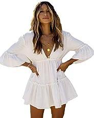 Bsubseach Swimsuit Beach Cover Up for Swimwear Women Beachwear Tunic Dress