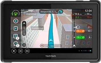 "Tomtom Pro 8270 Fijo 7"" Pantalla táctil 480g Negro navegador - Navegador GPS (Multi"