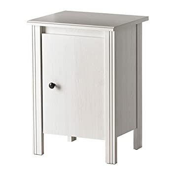 Ikea Brusali Table De Nuit Blanc 44x36 Cm Amazon Fr Cuisine