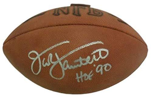 Football Signed Jack Lambert - Jack Lambert Signed Football - Rozelle HOF 14759 - JSA Certified - Autographed Footballs