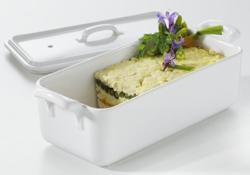 REVOL Belle Cuisine Terrine with Lid 35.25Oz, White by Revol (Image #2)