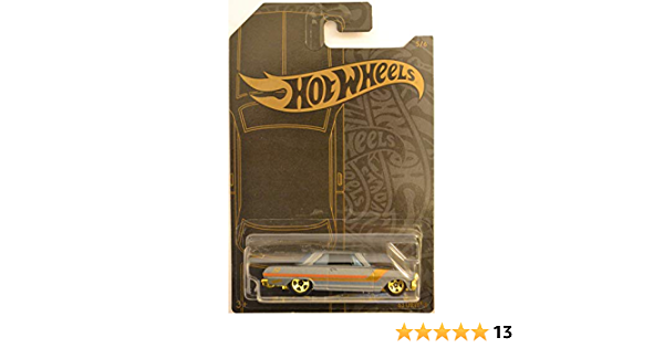 Details about  /Hot Wheels Satin and Chrome '63 Chevy II 1:64 Die-Cast Car #5 of 6