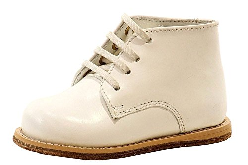 Josmo Baby Walker White Leather Dress 3.5 M US - Infant Deer Baby Shoes