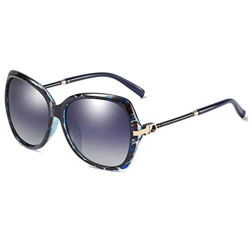 Gran De Personalidad Sol Marco Color Azul De Gafas Gafas Rojo De Nuevas LIUXUEPING UV Sol qvgwFF
