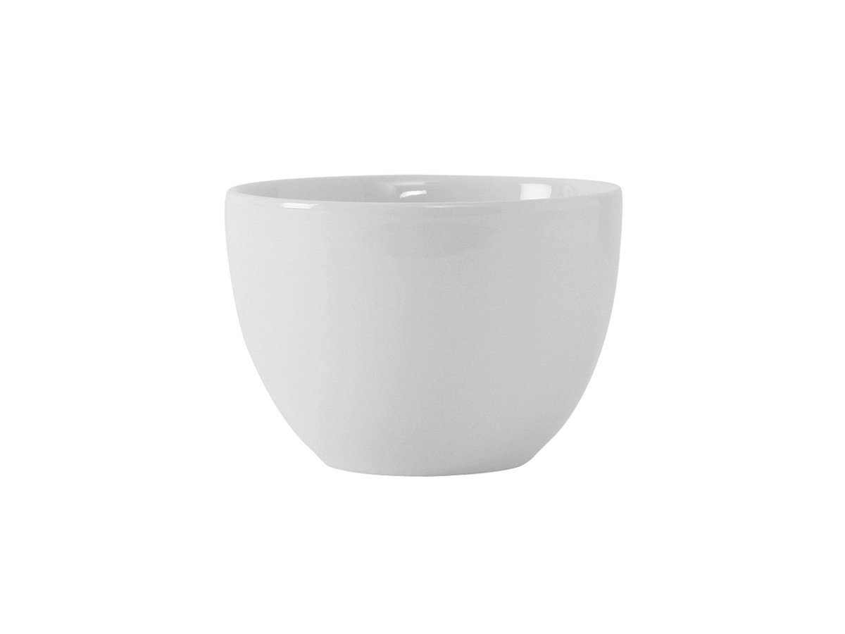 Tuxton VPB-120 Vitrified China Florence Bouillon, 12 oz, 4-1/8'', Porcelain White (Pack of 36),