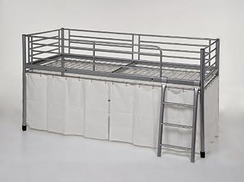 Metallbett Etagenbett : Kinderbett hochbett etagenbett metallbett mit leiter cm