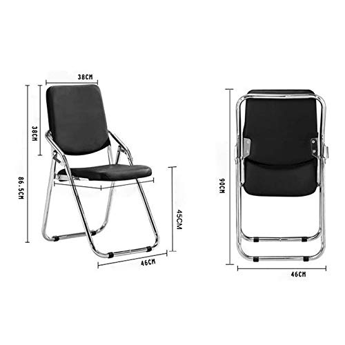 Amazon.com: Jizhen Folding Chair Office Chair Home high ...