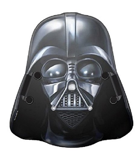 Tech 4 Kids Star Wars Head Shape Foam Sled Darth Vader Ride On, 24'' by Tech 4 Kids