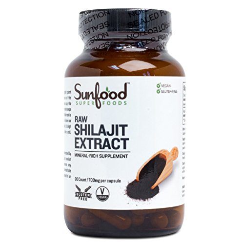 700 Mg 90 Capsules (Sunfood Shilajit Capsules 700mg | 90ct.)