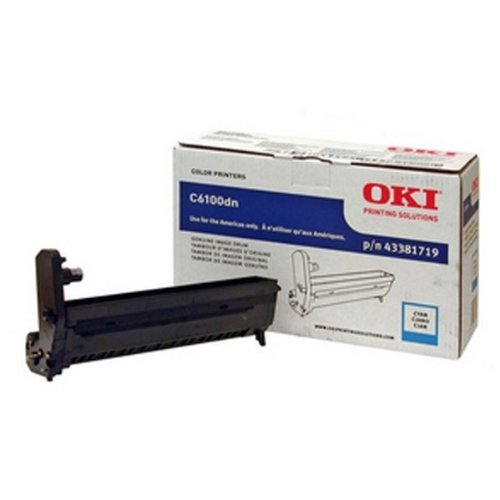 OKI43381719 - Oki Cyan Image Drum Kit For C6100 Series ()