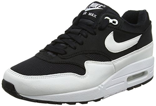 Running 034 Air Wmns Max 1 Donna Nike Black Nero Scarpe White 1PwHXX