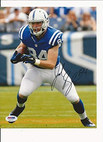 Jack Doyle Indianapolis Colts Hand Autographed Signed Autograph Color 8x10 PSA/DNA Aa33118