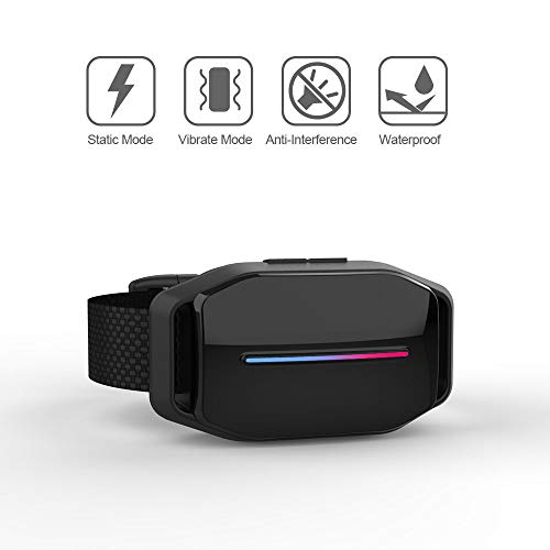 Dog Bark Collar – Effective Bark Collar for Dogs, Sound, Vibration Automatic 7 Levels Shock Modes Training Collar w LED Indicator, Easy to Use Dog Shock Collars
