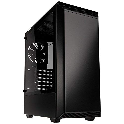 Phanteks Eclipse Steel ATX Mid Tower Tempered Glass Black Cases - PH-EC300PTG_BK (Best Budget Full Tower Case 2019)