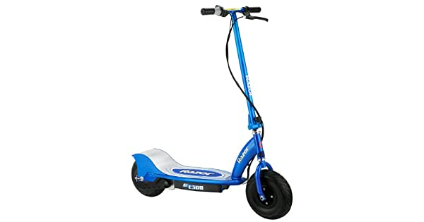 Amazon.com: Razor E300 – Patinete eléctrico (– Azul: Clothing