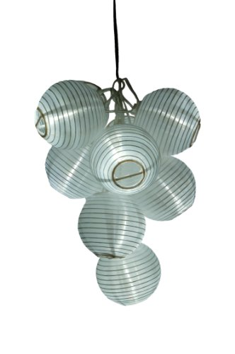 Oriental String Lights With Solar Energy Panel in US - 3