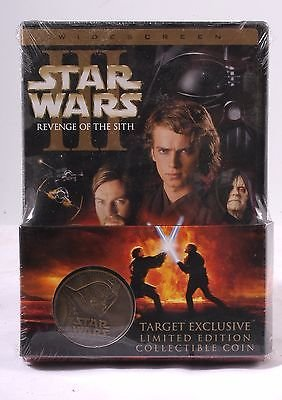 Star Wars Episode III, Revenge of the Sith DVD, Target Exclusive Limited Edition Collectable (Limited Edition Target)