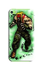 custom fashionable cool TPU phone case with New Style Popular Street Fighter Iv design phone accessory for iphone 5C