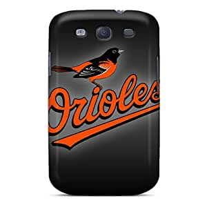 Scratch Resistant Hard Cell-phone Cases For Samsung Galaxy S3 With Unique Design Fashion Baltimore Orioles Pictures LisaSwinburnson WANGJING JINDA