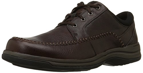 Clarks Leather Tie - CLARKS Men's Portland 2 Tie Casual Shoe,Brown Leather,10 M US