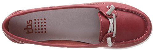 TBS Women's Flavie Loafer Flats Red buy cheap Cheapest clearance 100% original with credit card online discount codes really cheap deals online eFrvVaYTdC