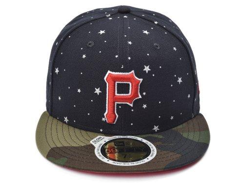 New Era Glow in the Dark 59FIFTY MLB Pittsburgh Pirates Cap Size 7 3/8