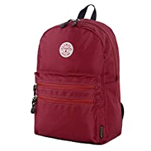 Olympia Luggage Princeton 18 Inch Backpack, Burgundy, One Size