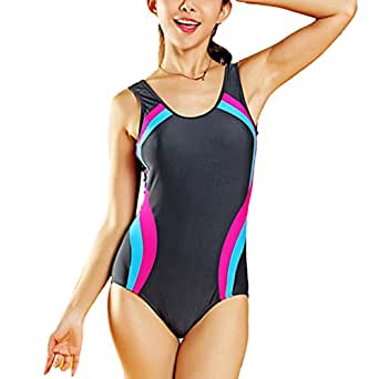 summer mae athletic sports swimsuit tankini womens bathing suit at
